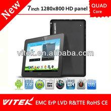 7 inch Quad Core 2G 3G Tablet PC