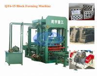 QT6-15 Coal Ash Brick Making Machine