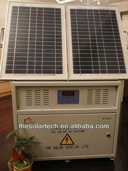 Solar energy power system AC 220v 300W
