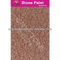 Impressionante! Pedra de verniz de silicone spray de pintura com boa aderência para a parede de cimento