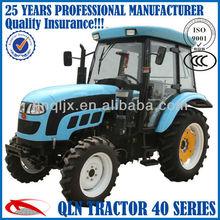 Henan QLN454 diesel engine 45hp 4wd farm traktor trailer
