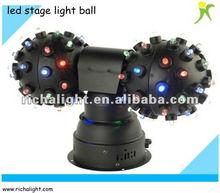 Led disco ball/cheap led stage light sound light