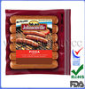 Cheap plastic bags printing for chicken sausage