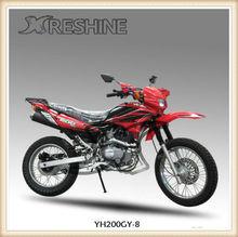 2013 YH200GY-8B hot model,gas powered dirt bike for kids