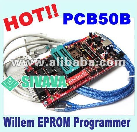 Mejor venta, genuino sivava willem programador eprom pbc50b 2012 versión, apoyo pic mcu, eprom, eeprom, flash,