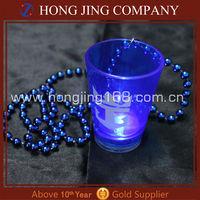 Flashing LED Plastic Shot Glass