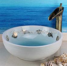 Decorative color ceramic sanitaryware