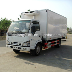 Perfect truck! 5T China most famous refrigerated cargo van