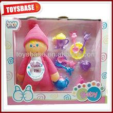 pulgadas 7 precioso bebé de algodón muñeca de trapo