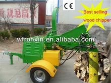 Shandong Runshine CE self-power wood chipper diesel power wood chipper yanmar diesel