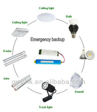 Wide range input voltage led emergency power pack