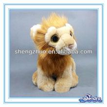 Stuffed Best made plush animal lion/Smart big lion toy EN71 approved