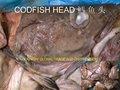 Bacalao cabeza de pescado