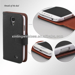 leather mobile phone case for samsung galaxy s4 i9500