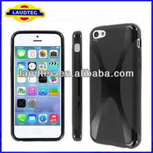 Size 100% confirmed tested with REAL Phone, X-Line TPU Gel Case for iPhone 5C, Wave Gel Case for iPhone 5C---Laudtec