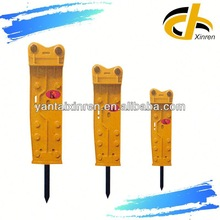 High Frequency hydraulic breaker excavator attachment