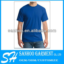 Men'S Solid Color T-Shirts Plain With Customer'S Own Logo