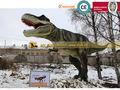 de fibra de vidrio jurrassic dinosaurio modelo