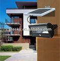 design compatto solare lampada di sicurezza con sensore di movimento pir rivelatore