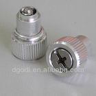 china manufactory aluminum knurled spring set screw