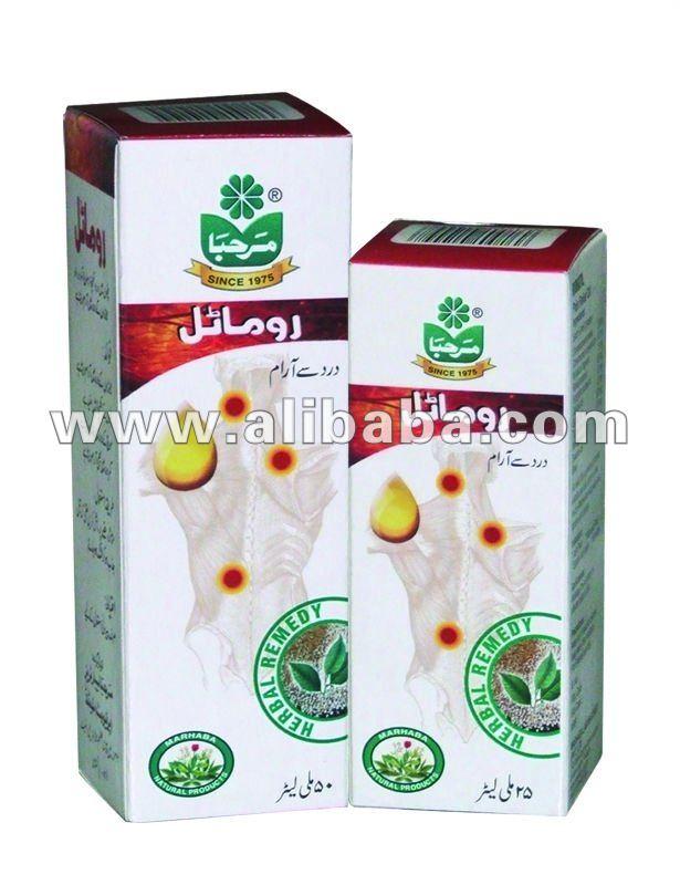 Huile de Rumatil (huile médicinale de fines herbes pour des douleurs musculaires)
