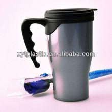 BPA free Plastic Thermal Coffee Cups(450ML/16OZ)