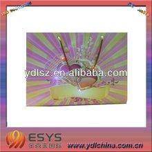 led flashing and musical promotion bag