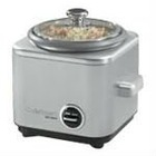 Rice cooker - brushed stainless steel