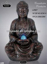 polyresin buddha fountain pumps
