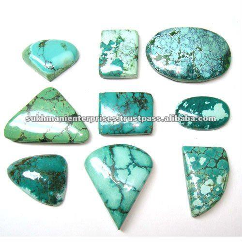 Tibetana turquesa piedras preciosas semi preciosas piedras - Tipos de piedras naturales ...