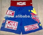 MANNY PACQUIAO Boxing Trunks / Shorts used in 3rd Marquez Fight
