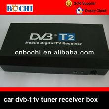 High performance car dvb-t receiver box