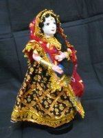 Indian Hand made Dolls Rich Art And Craft Rajasthan India Artisan Alibaba ebay vedic Yoga