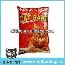 2013 Sample free natural clumping bentonite fussie cat cat litter lemon refresh