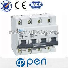 OB8-100 NC100 100a mcb mccb circuit breaker rccb earth leakage
