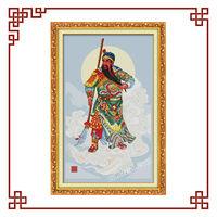 NKF Guan Gong(1) cross stitch patterns