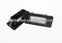 Error Free Samsung SMD LED LICENSE PLATE LIGHT SET For AUDI TT Q5 A4 S4 A5 S5