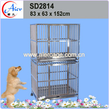 fashion design strong stainless steel dog cage weld mesh dog cage