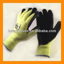 Polar Penguin High Viz Terry Lined Rubber Palm Glove