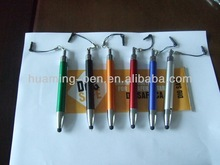 new plastic promotional banner pen with stylus