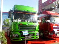 Shacman LNG trailer tractor truck/semi trailer truck/shanxi weichai engine truck