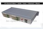 32ch video RS485 data audio video converter