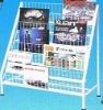 Magazine Wire Mesh Display Shelf