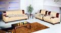Hochwertiges leder sofa, büro sofa