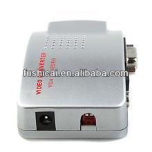 Wholesale - PC Laptop VGA to TV AV Signal Converter Switch Box ,PC-VGA TO TV AV/RCA converter ,