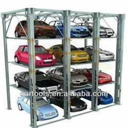 Multi-level car garage park equipment storage parking system