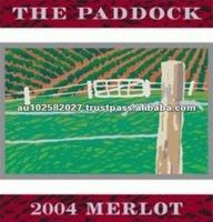 2004 The Paddock 13.8% Premium Grade Merlot Red Wine Brands