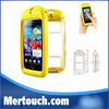 100% waterproof case for iphone 4 4S with Certificate cell phone PC+ Silicone waterproof case