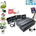 4 canali mobili sistema dvr kit con gps wifi 3g per Mass vehicles' monitoraggio