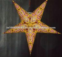 decorative paper star/paperstarne/star lantern / Christmas decoration